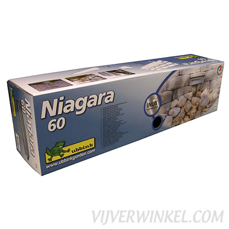 Ubbink Niagara RVS waterval 60