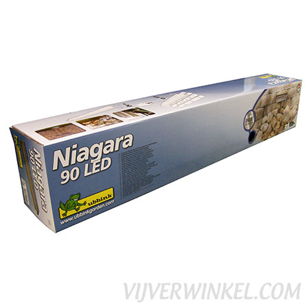 Ubbink Niagara RVS waterval 90 LED