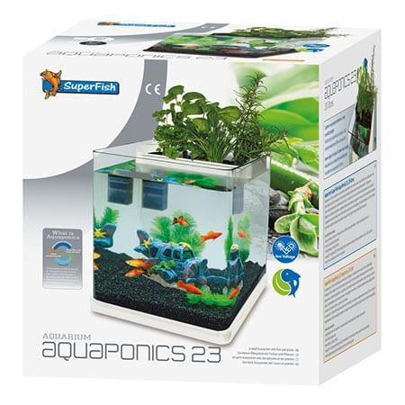 SuperFish Aquarium AquaPonics 23 Wit