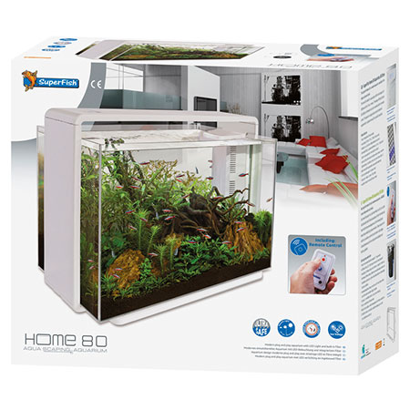SuperFish Aquarium Home 80 Wit