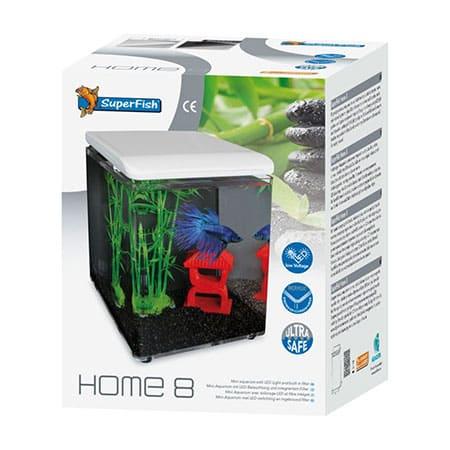 SuperFish Aquarium Home 8 Wit