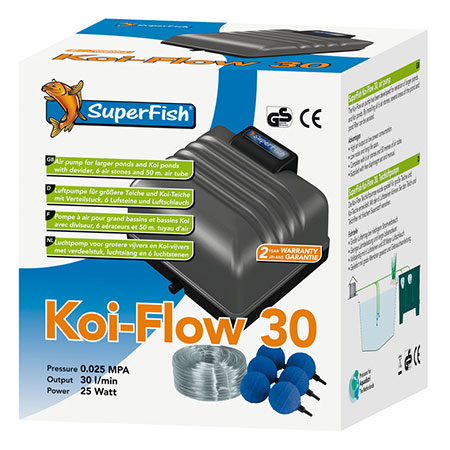 SuperFish Koi Flow 30 Beluchtingsset