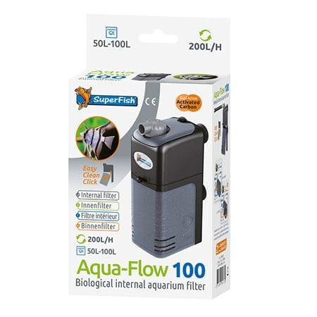Superfish Aqua-Flow 100 Binnenfilter 200 l/h