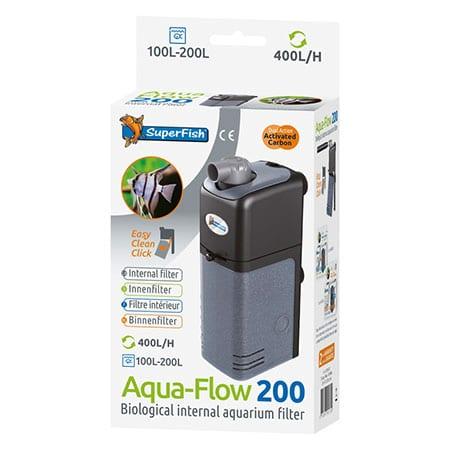 Superfish Aqua-Flow 200 Binnenfilter 400 l/h