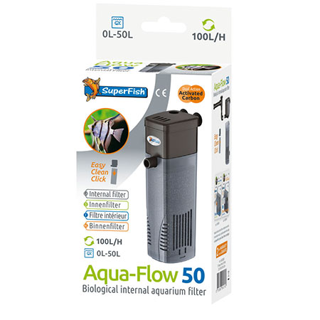 Superfish Aqua-Flow 50 Binnenfilter 100 l/h