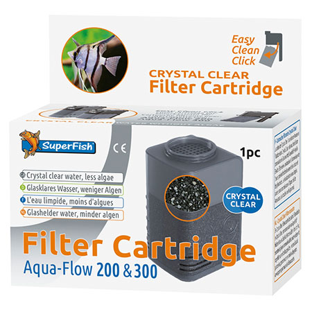 SuperFish Cartridge AquaFlow 200&300 Crystal Clear