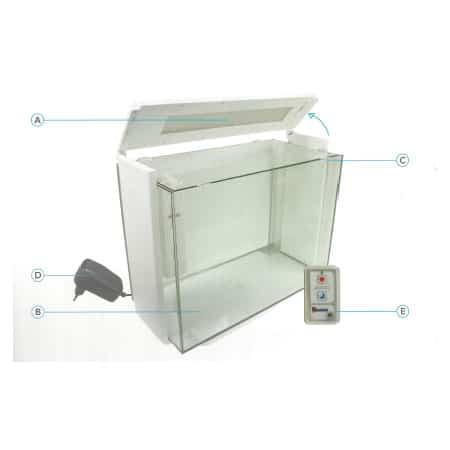 Bevestigingsclip Dekruit Superfish Home 80 - 4 stuks