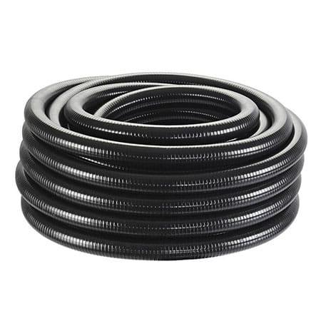 Oase spiraalslang zwart 1 1/2 inch
