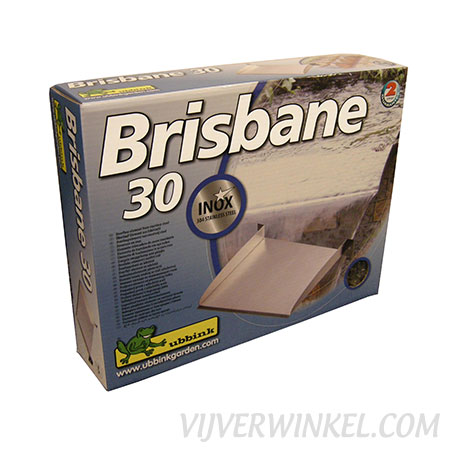 Ubbink Brisbane overloopelement 30 RVS