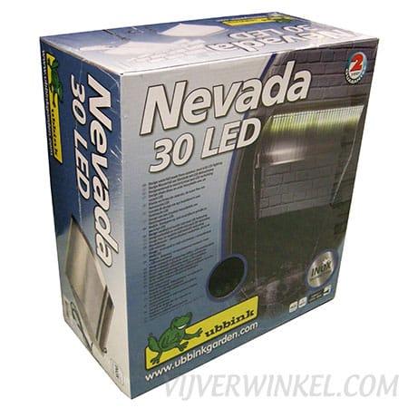 Ubbink Nevada LED 30 RVS waterval