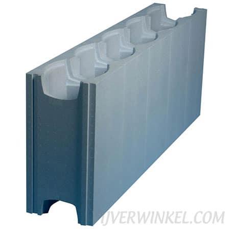 Aqua Easy ISOSTONE rechte bouwsteen XXL 125 x 50 x 125 cm
